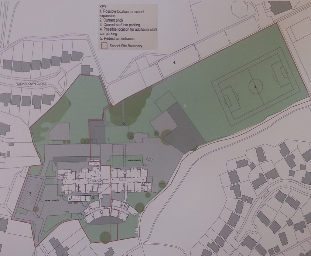 Possible school expansion drawing